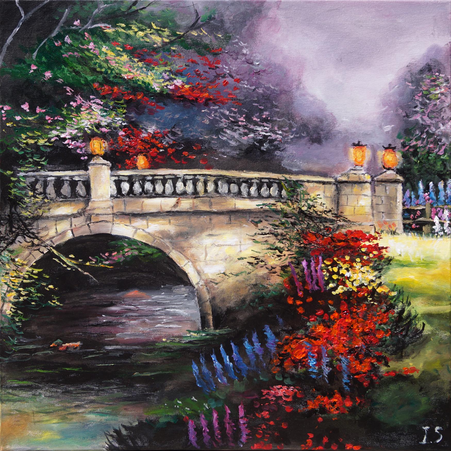 Jardins fleuris les peintures d 39 isabelle for Composer un jardin fleuri